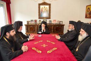 Συνάντηση του Οικουμενικού Πατριάρχη κ. Βαρθολομαίου με τὴν Ορθόδοξη Επισκοπική Συνέλευση της Μπενελούξ