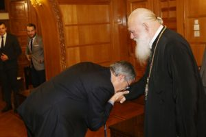 """Αρχιεπίσκοπος Αθηνών Ιερώνυμος : """"Ο λόγος του Θεού είναι τροφή για όλους μας"""""""