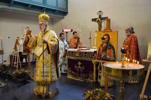 Πανηγυρική Θεία Λειτουργία στην Ενορία της Αγίας Αικατερίνας στο Άμστερνταμ