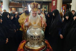 Η Αίγινα τίμησε τον Πολιούχο της Μεγάλο Άγιο Νεκτάριο