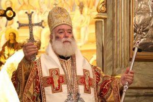 Ο Πατριάρχης Αλεξανδρείας Θεόδωρος στη Λεμεσό επί τη μνήμη του Αγίου Ιωάννου του Ελεήμονος