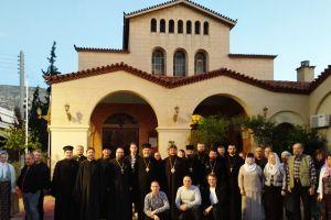Η Αγία Μαρίνα Ηλιουπόλεως υποδέχθηκε με αγάπη τους Αδελφούς της Αυτοκεφάλου Εκκλησίας της Ουκρανίας