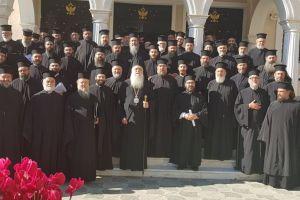 Η 5η Ιερατική Σύναξη για την  Ι.Μητρόπολη  Περιστερίου από την ημέρα της ενθρόνισης του αεικίνητου Σεβ. Κλήμεντος