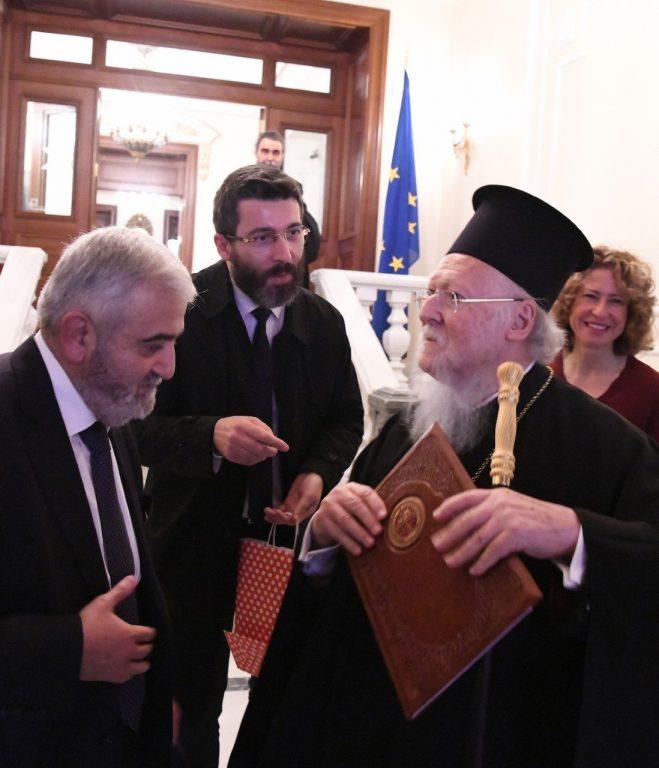 Οικουμενικός Πατριάρχης: «Ο Θεοδωρουπόλεως Γερμανός ήταν κάτι ξεχωριστό»