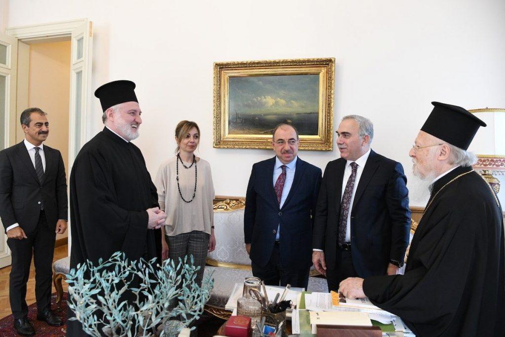 Ο Δήμαρχος του Δήμου Φατίχ της Πόλεως επισκέφθηκε το Οικουμενικό Πατριαρχείο