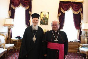 Ο PΚαθολικός Αρχιεπίσκοπος Μάλτας στο Οικουμενικό Πατριαρχείο