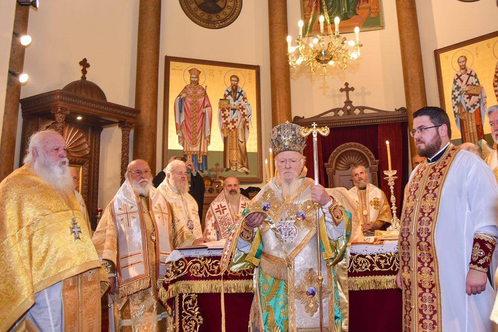 You are currently viewing Χειροτονία του Αρχιδιακόνου της Μητροπόλεως Βελγίου από τον Οικουμενικό Πατριάρχη
