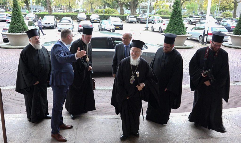 Η άφιξη του Οικουμενικού Πατριάρχου στις Κάτω Χώρες