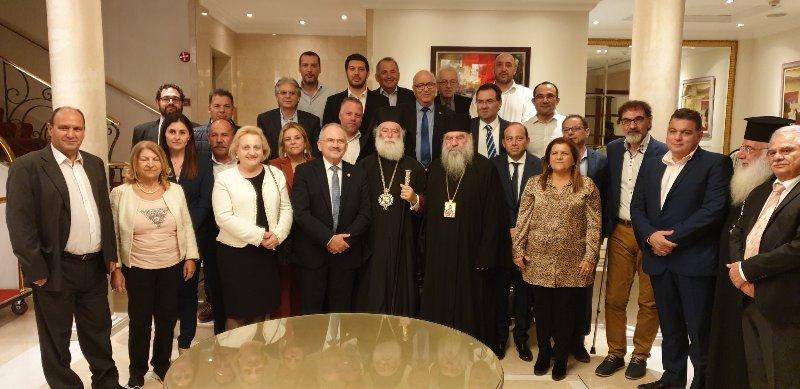 Δείπνο προς τιμήν του Πατριάρχη Αλεξανδρείας στη Λεμεσό