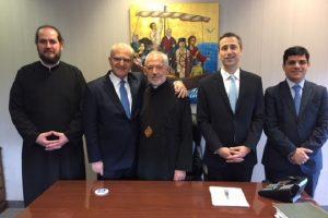 Ο Υφυπουργός Εξωτερικών Αντώνης Διαματάρης στην Αρχιεπισκοπή Καναδά