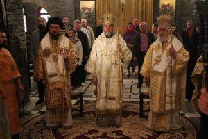 Συλλείτουργο του Μητροπολίτη Φωκίδος με Ιεράρχες της Αυτοκέφαλης Εκκλησίας της Ουκρανίας στο Μοναστήρι του Τρικόρφου