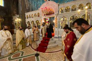 Ευχές σε κλίμα συγκίνησης στον Άγιο Αρτέμιο Παγκρατίου