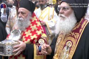 Η Θεσσαλονίκη υποδέχτηκε την Τιμία Κάρα του Ιερού Χρυσοστόμου
