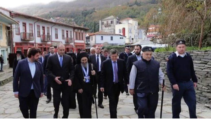 You are currently viewing H επίσκεψη του Προέδρου της Βουγαρίας στο Άγιον Όρος