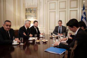 Στον Πρωθυπουργό μέλη της Ελληνικής Εθνικής Μειονότητας