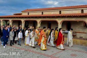 Τελέστηκαν τα Εγκαίνια του Ιερού Ναού Αγίου Γεωργίου Κολχικού, στην Μητρόπολη Λαγκαδά