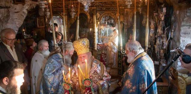 Η Αμοργός εόρτασε την Πολιούχο και Προστάτιδα της Παναγία Χοζοβιώτισσα