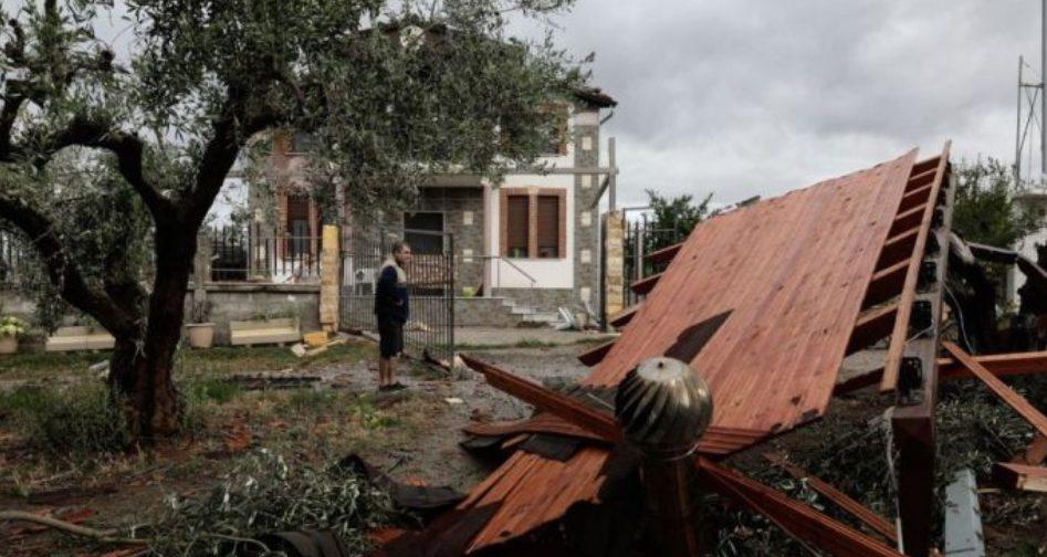 Ο Μητροπολίτης Τρίκκης και Σταγών στο παρά πέντε σώθηκε από την καταιγίδα στο Αγιο Ορος