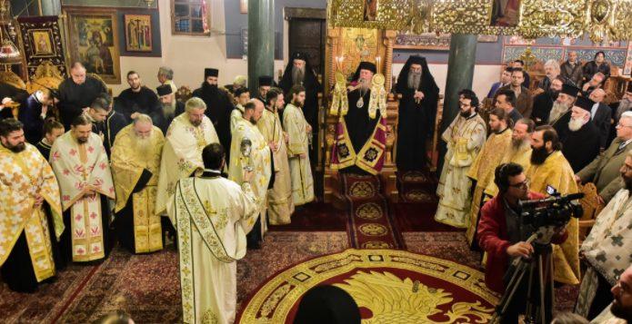 Πανηγυρικός  Αρχιερατικός  Εσπερινός και το Ζ΄ Θεολογικό Συμπόσιο επ΄ ευκαρία της εορτής του Αγίου Δαμασκηνού του Στουδίτου, Επισκόπου Λητής και Ρεντίνης.