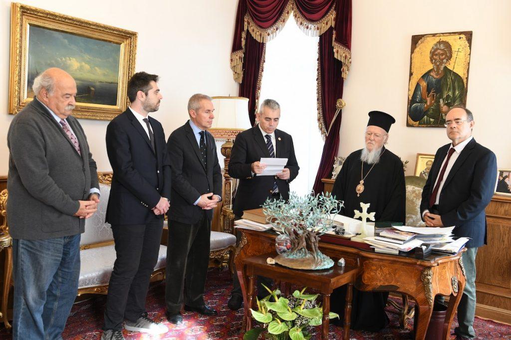 Επίσκεψη στο Οικουμενικό Πατριαρχείο Ιεράρχου της Σιωνίτιδος Εκκλησίας