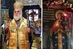 Η Ι.Μ. Αγίας Αναστασίας Φαρμακολυτρίας τίμησε την Κτιτόρισσα της Αγία Θεοφανώ