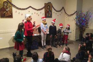 Χριστουγεννιάτικη εορτή του ελληνικού σχολείου Αγίου Στεφάνου Παρισίων