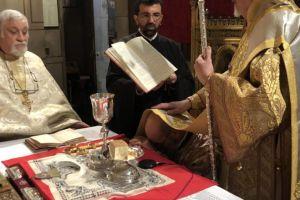 Χειροτονία νέου Διακόνου από τον Μητροπολίτη Γαλλίας
