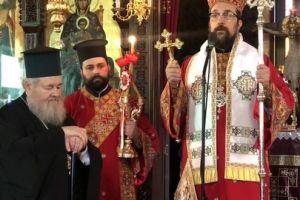 Η εορτή του Αγίου Διονυσίου στα Λενταριανά Χανίων με τον Θεοφ. Επίσκοπο Δορυλαίου Δαμασκηνό