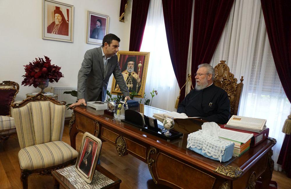 Ο Αρχιεπίσκοπος Κύπρου Χρυσόστομος Β ´ de profundis…