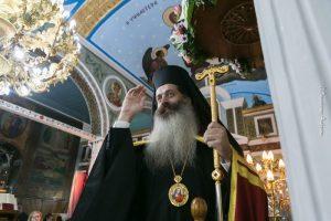 Φθιώτιδος Συμεών : «Ο Άγιος Σπυρίδων μας δείχνει πως να γίνουμε πολίτες του Ουρανού»