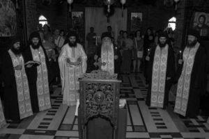 Τρισάγιο για τον Γέροντα Εφραίμ στο μοναστήρι του Τρικόρφου