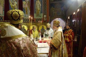 Τρισαρχιερατική Χριστουγεννιάτικη Αγρυπνία στην Ι.Μ. Κορίνθου