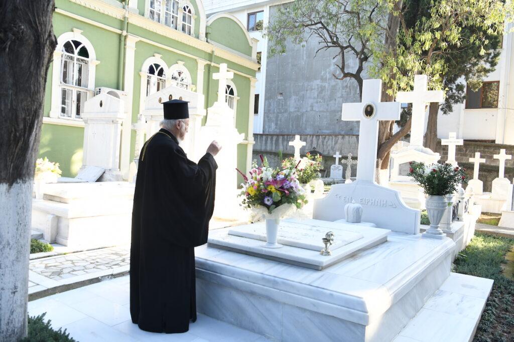 Μνήμη και τιμή του κορυφαίου των Ιεραρχών του Οικουμενικού Θρόνου Γέροντος Χαλκηδόνος Μελίτωνος