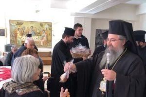 Ιδρύματα της Λευκάδας επισκέφθηκε ο Μητροπολίτης Θεόφιλος
