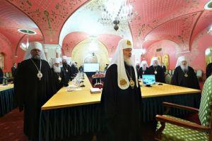Άρχισαν οι εργασίες της κρίσιμης συνεδρίασης της Συνόδου του Πατριαρχείου Μόσχας