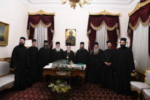 Προσκυνηματική επίσκεψη των Καθηγουμένων των Μονών Ξενοφώντος και Παντοκράτορος και Αγιορειτών πατέρων στο Φανάρι