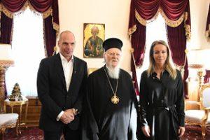 Ο Γραμματέας του ΜέΡΑ25 Γ. Βαρουφάκης στο Οικουμενικό Πατριαρχείο
