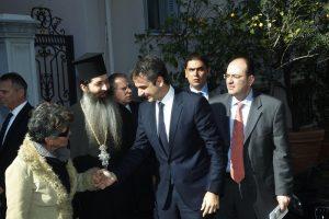 Ο Σεβ. Φθιώτιδος Συμεών παρών στην Επίσκεψη του Πρωθυπουργού στην Ε65