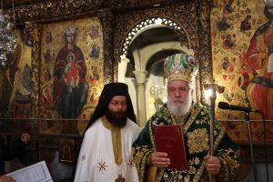 Χειροτονία Πρεσβυτέρου στο Καθολικό της Ιεράς Μονής Ταξιαρχών Σερίφου