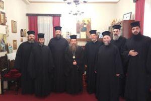 Συνάντηση Δ. Σ. Συνδέσμου Κληρικών Χίου με τον Μητροπολίτη Χίου Μάρκο