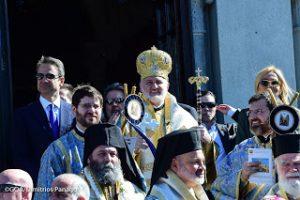 Θεοφάνεια στο ελληνικό χωριό του Τάρπον Σπρινγκς των Η.Π.Α. παρουσία του Έλληνα Πρωθυπουργού- Παρών και ο Ιωαννίνων Μάξιμος!!