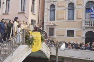 Ο Αγιασμός των Υδάτων στα Κανάλια της Βενετίας (βίντεο)