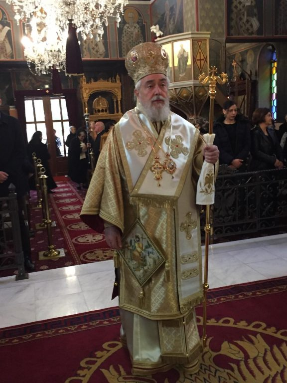 Ο Μητροπολίτης Φωκίδος στον Άγιο Νικόλαο Δελφών