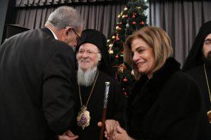 Ο Οικουμενικός Πατριάρχης Βαρθολομαίος εκφράζει την εύφημη μνεία της Εκκλησίας και του Γένους στον Αντώνη Διαματάρη