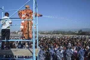 Καταπλακώθηκαν πιστοί από κατάρρευση εξέδρας στον εορτασμό των Θεοφανείων στην Αιθιοπία