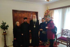 Παραμονή Πρωτοχρονιάς στην Ι. Μητρόπολη Περιστερίου