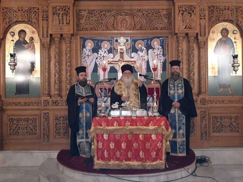 Την βασιλόπιτα της ιεροψαλτικής οικογένειας ευλόγησε ο Σεβ. Δημητριάδος