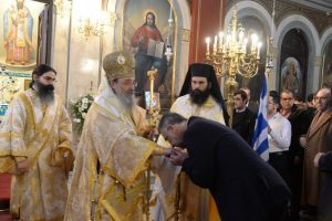 Πατρών Χρυσόστομος: «…Το κέντρο του εορτασμού των Τριών Ιεραρχών είναι ο Εκκλησιασμός των μαθητών…»