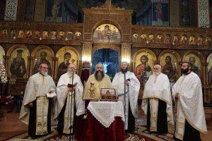 Πλήθος κόσμου στον Άγιο Αθανάσιο στα Γαλανέικα Λαμίας