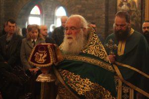 Η εορτή της κοιμήσεως του Οσίου Σεραφείμ του Σάρωφ στο Τρίκορφο Φωκίδος